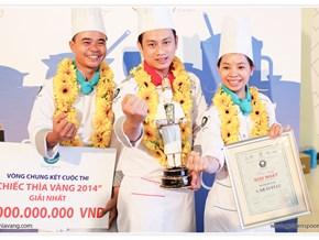Lộ diện quán quân cuộc thi Chiếc Thìa Vàng 2014