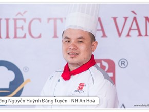 Nguyễn Huỳnh Đăng Tuyên - Giải Đầu bếp trẻ yêu nghề Chiếc thìa vàng 2014