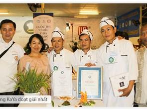 Các đội đạt giải trong vòng sơ kết Chiếc Thìa Vàng 2013 tại Nha Trang