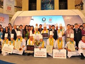 1 tỷ đồng cho đội đầu bếp vô địch cuộc thi Chiếc thìa vàng