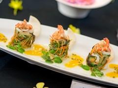 Sự tráng lệ trong từng chi tiết ẩm thực
