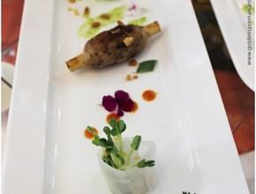 Bánh cuốn hến - Chả ếch lá lốt - Chạo ốc nướng mía
