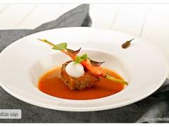 Bò nấu dừa sáp