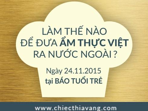 Mời đặt câu hỏi giao lưu về ẩm thực Việt
