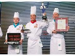 """Lập """"hattrick"""" giải nhất, khách sạn Lotte Hà Nội đoạt Cúp Đầu bếp và 1 tỉ đồng giải thưởng"""