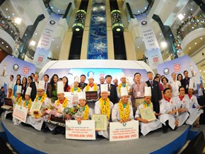Chiếc Thìa vàng 2014: Đầu bếp khách sạn Caravelle giành giải nhất