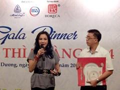 """Diva Thanh Lam làm giám khảo chung kết """"Chiếc thìa vàng 2014"""""""