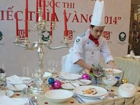 Chiếc thìa vàng 2014: Đầu bếp Caravelle Hotel đoạt cúp vô địch và tiền thưởng 1 tỉ đồng