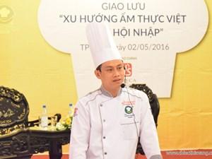 Giao lưu về xu hướng ẩm thực Việt tại Huế