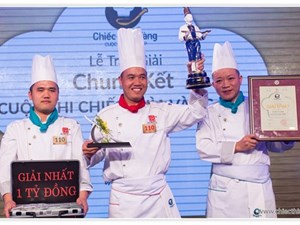 Lotte Hanoi Hotel named champion of the Golden Spoon Contest 2015