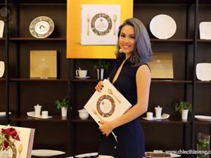 Á hậu Hoàng My: 'Tôi vào bếp nấu ăn mỗi ngày'