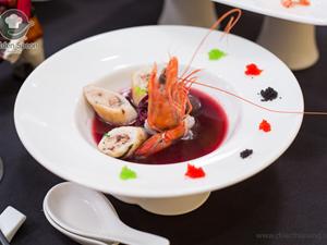 Những món ăn hương vị Á, phong cách Âu