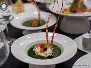 Biến tấu tinh tế trong các món ăn làm từ hải sản