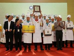 Món ăn fusion giúp các đầu bếp Khu du lịch Bình Quới 1 đoạt giải nhất 50 triệu đồng