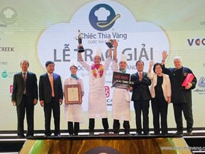 Binh Quoi 1 Resort seized the championship of The Golden Spoon Contest 2016