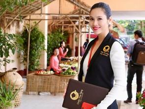 Á hậu Hoàng My: 'Ăn toàn món ngon là điều sướng nhất khi làm đại sứ ẩm thực!'