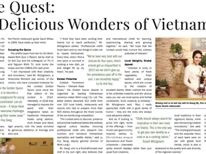 Vietnamese culinary competition in the eyes of the States media
