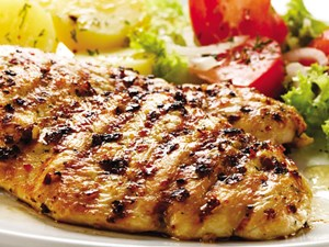 Thịt gà năm Dậu
