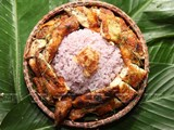 Mai Chau's Purple Steamed Glutinous Rice and Chicken Grilled with Sichuan Pepper