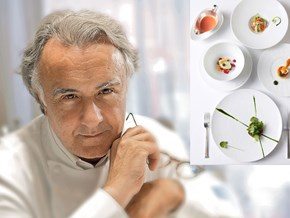 """Alain Ducasse và xu hướng Haute cuisine - """"nói không với thịt"""""""