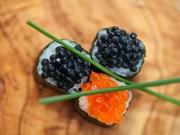 Nấu caviar theo phong cách đầu bếp Michelin