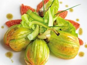 Bông bí, món ăn thời thượng ở Pháp