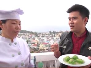 Chè trôi nước đậu đỏ, trà xanh - Lâm Đồng