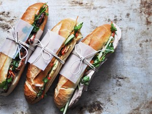 Americans Try Vietnamese Banh Mi
