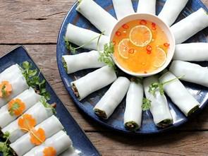 Thực khách Mỹ phát sốt với món phở cuốn Việt Nam