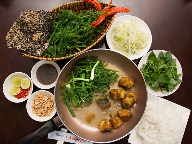 Cha Ca La Vong Ranked On the World's Top Must-Visit Food Destination