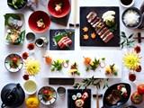 Nghệ thuật bày biện món ăn tinh tế của người Nhật