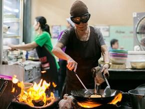 Quán ăn đường phố ở Thái Lan giành được một sao Michelin