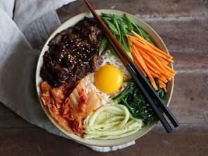 Triết lý ngũ sắc trong ẩm thực Hàn Quốc