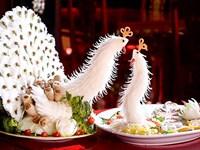 """Nghệ thuật tỉa rau củ: """"Điêu khắc"""" trong ẩm thực"""