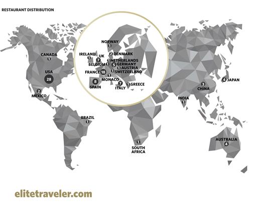 Elite Traveler's 100 Best Restaurants in The World 2018