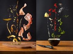 Thức ăn lơ lửng:Trải nghiệm phong cáchẩm thực mới lạ
