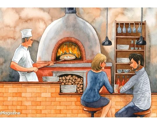 """Pizza """"lò củi"""" – niềm tự hào của người Ý"""