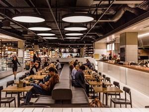 Food Hall - xu hướng không thể thiếu tại trung tâm các thành phố