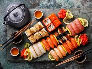 Sushi, đỉnh cao của ẩm thực tối giản