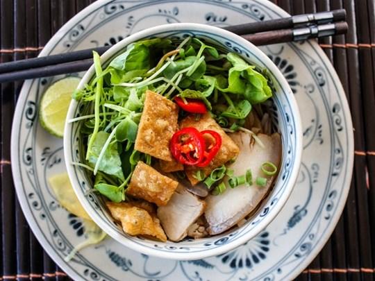 Hương vị quê nhà: Cao lầu Faifo